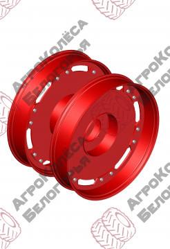 Wheels for aisle Claas W10x54