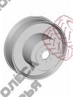 Колёсные диски для междурядья Case W10x36