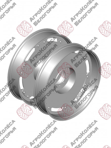 Wheels for aisle Challenger W10x54