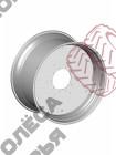 Основные колёсные диски Massey Ferguson DW23Bx42