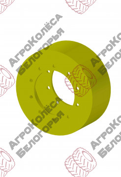Spacer for doubling the wheels front for a John Deere tractor 6920